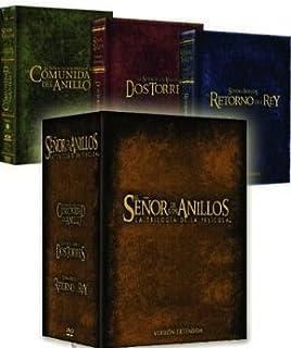 Trilogia El Señor De Los Anillos Ed. Cinematografica DVD: Amazon ...