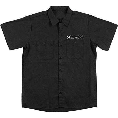 Soilwork Embroidered Anchor Shirt Black