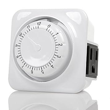Century Timer Century - Temporizador mecánico de Cuenta atrás con ...