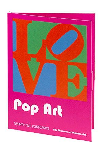 Pop Art Postcard Book