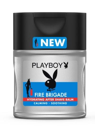 - Playboy Fire Brigade After Shave Balm for men 3.4 oz