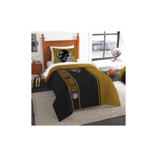 Jacksonville Jaguars Comforter (Northwest NOR-1NFL835000014BBB 64