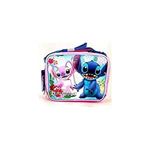 3a8476c63c3 Disney Stitch & Angel Pink Insulated Lunch Bag