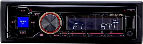 41p66Eh4ASL amazon com alpine cde 141 cd mp3 car stereo receiver with front alpine cde 141 wiring diagram at eliteediting.co