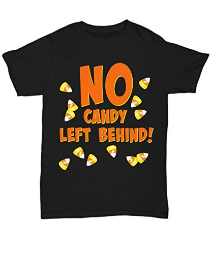 DLC Novelties Candy Corn Halloween Youth Tshirt - No Candy Left Behind! - Unisex Tee