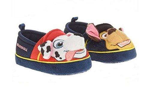 6676c6bd598a Galleon - Nickelodeon Paw Patrol Boys Girls Chase   Marshall Slippers (Blue