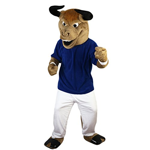 Langteng Cow Bull Cartoon Mascot Costume Real Picture 15-20days delivery Brand ()