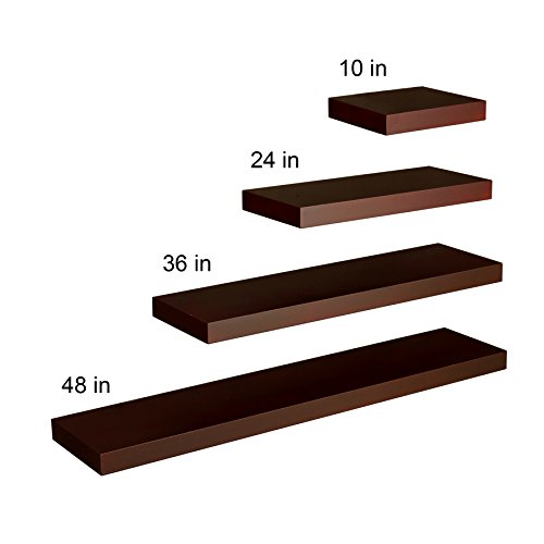"037732073613 - Chicago Floating Shelf 36"" - Chocolate carousel main 5"