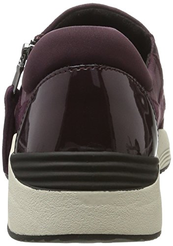 37 Basses dk Violet Omaya A Burgundy Sneakers Eu Geox Femme prune TXPOn