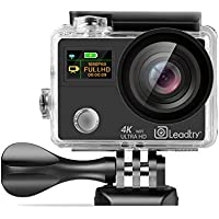 LeadTry TP3 Sports Action Camera 12MP WiFi Full 4K HD...