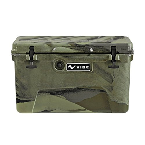 Vibe Kayaks Vibe Element 45Q Cooler with Bottle Opener, Hunter Camo