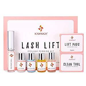 Eyelash Perm Kit, Professional Quality Lash Lift