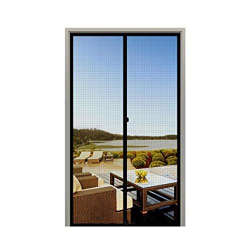 MAGZO Screen Door Magnets 32 x 80, Durable Fiberglass Door Mesh with Full Frame Hook&Loop for Patio Door Fits Door Size up to 32