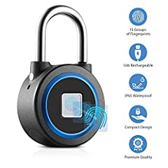 New Release -- To Eliminate Your Worry About Our New Lock!  Amazon Prime return policy in 30 days.  One year warranty, if any quality problems, No Hassle, 100% Money Back Guarantee. Seller Contact Email Address: m18819010470@163.comFingerprin...