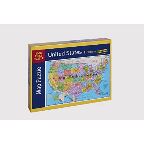 United States Of America Map Piece Jigsaw Puzzle Highways - Us map with states capitals and rivers