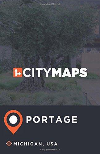 City Maps Portage Michigan, USA