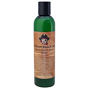 Mens Body Lotion, Manly Man Scented Lotion Moisturizing dry Skin Care, The Lavender Boutique (Spearmint & Anise)