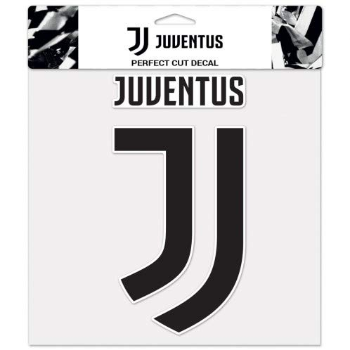 Juventus Football Club 1 Large Decal WinCraft Bundle 3 Items 1 Sheet of 2 Small Decals and 1 Small Decal