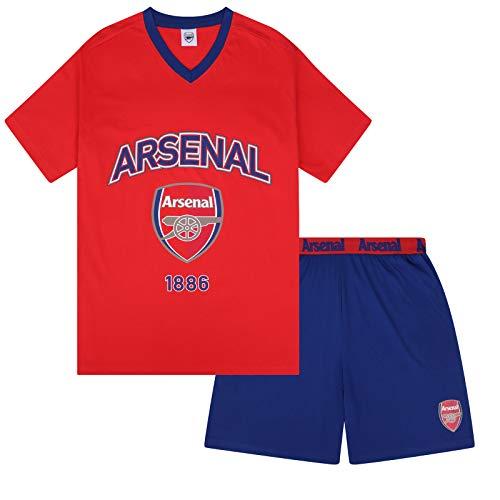 Arsenal FC Official Football Gift Mens Loungewear Short Pajamas XL
