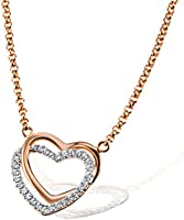 Goldmaid - Collier avec Pendentif coeur - Argent 925/1000 Rosé -
