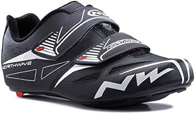 NORTHWAVE Zapatillas de Carretera NW Jet EVO, Unisex Adulto, Black ...