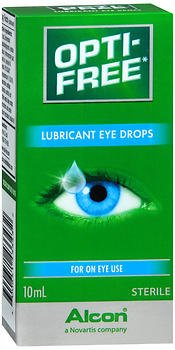 [Opti-Free Lube Eye Drops Size .33z Opti-Free Lubericant Eye Drops .33z] (Free Lubricant)