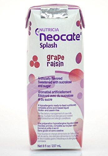 Neocate Splash, Grape, 237 mL (Case of 27) - Grape Milk