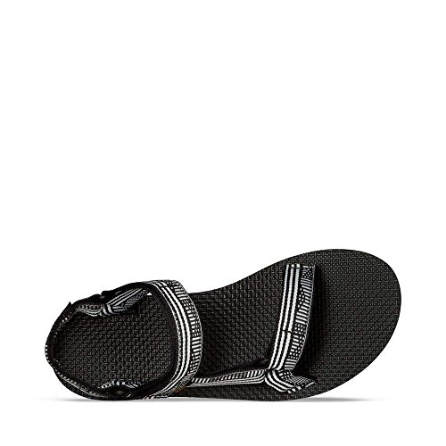 Teva Women's W Original Universal Sandal, Campo Black/White, 11 M US by Teva (Image #5)