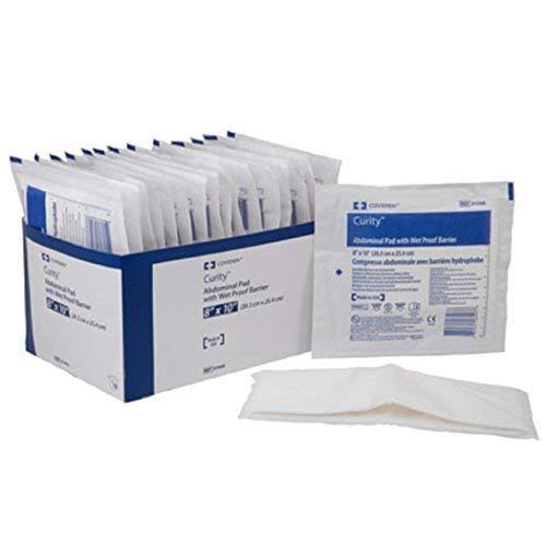 Tendersorb WET-PRUF Abdominal Pad, Tendersorb Drs Strl 8 X 10 in, (1 PACK, 18 - Pads Wet Tendersorb Pruf Abdominal
