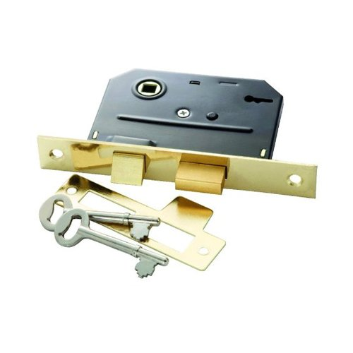 Belwith Products 1155 Bit Key Mortise Lock, Brass
