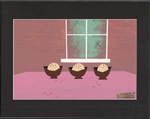 Samurai Jack Hand Painted Animation Background Art from Cartoon Network Episode 13 (Best Samurai Jack Episodes)