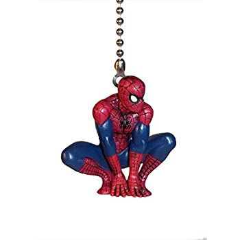 Spider man marvel ceiling fan pulls by wooden androyd studio spider spider man marvel ceiling fan pulls by wooden androyd studio spider man 1 aloadofball Gallery