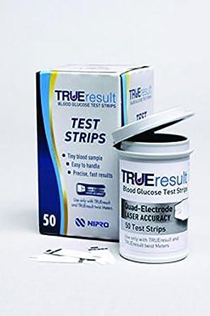 Nipro TRUE Result F75588 Test Strip: Amazon co uk: Business