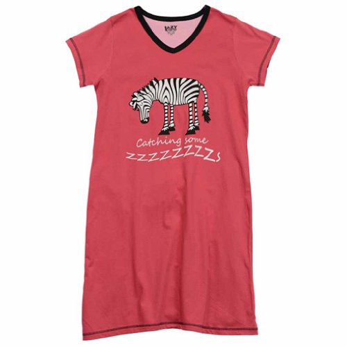 Catching Some ZZZZZZs Zebra Nightshirt
