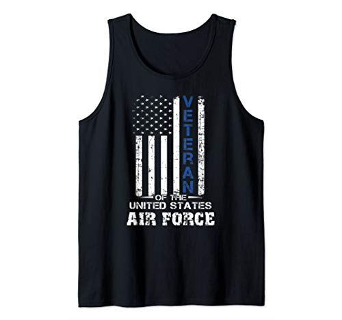 Veteran of the United States US Air Force t-shirt USAF Tank Top