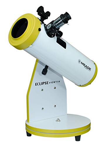 Meade Day and Night - EclipseView 114mm Reflecting Telescope with Removable Filter (227001)