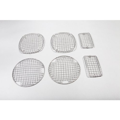 Rugged Ridge 11102.03 Stainless Stone Guard Kit - 6 Pieces