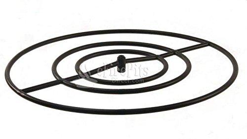 Fr Propane (Hearth Products Controls (HPC) Round Black Iron Fire Pit Burner (FR-30-LP), 30-Inch, Propane Gas)