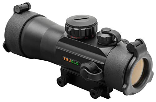 TRUGLO 42x2mm Dual-Color Multi-Reticle Red Dot Sight (Truglo Tru Brite Open Red Dot Sight)