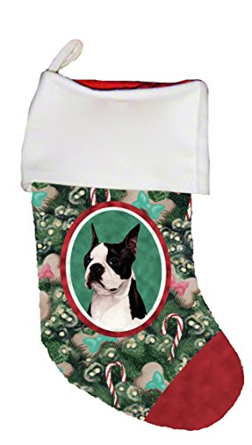 - Best of Breed Boston Terrier Dog Breed Christmas Stocking