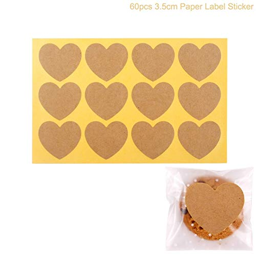1 piece PATIMATE DIY Thank You Stickers Seal Label Cake Baking Label Sticker Kraft Paper Handmade Sticker Christmas Halloween Decoration for $<!--$9.40-->