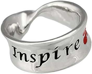 Inspire Autism Awareness Mobius Ring