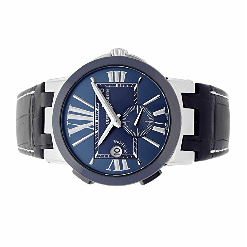 Ulysse-Nardin-Executive-Dual-Time-automatic-self-wind-mens-Watch-2430043-Certified-Pre-owned