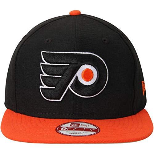 Philadelphia Flyers New Era 9Fifty Basic Black Flat Brim Snapback Hat (Adult M/L)