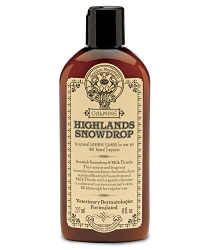 highlands-snowdrop-8oz-a-calming-blend-of-scottish-snowdrop-milk-thistle-pet-shampoo-and-conditioner
