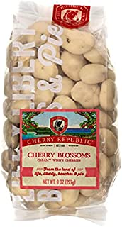 product image for Cherry Republic White Chocolate Cherries - Authentic & Fresh White Chocolate Covered Cherries Straight from Michigan - Cherry Blossoms - 8 Ounces