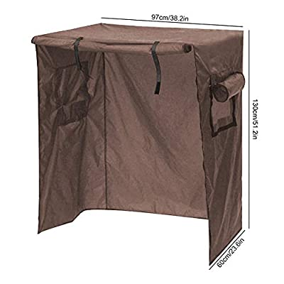 Aiggend Birdcage Cover - Waterproof Canopy Birdcage Cover Outdoor Garden Patio Dustproof Furniture Cover Protection: Kitchen & Dining