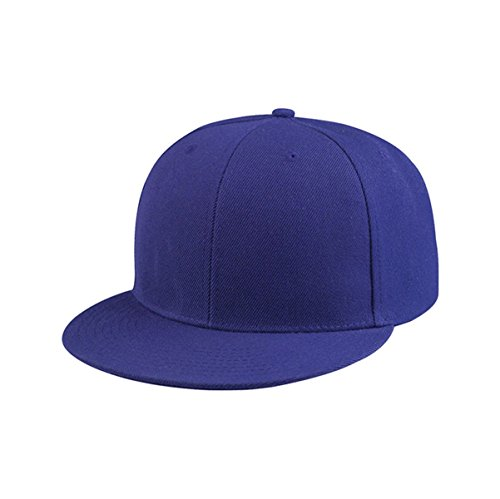 Hats & Caps Shop Flat Bill Fitted Cap - By TheTargetBuys | - Hat With Wayne's World Hair
