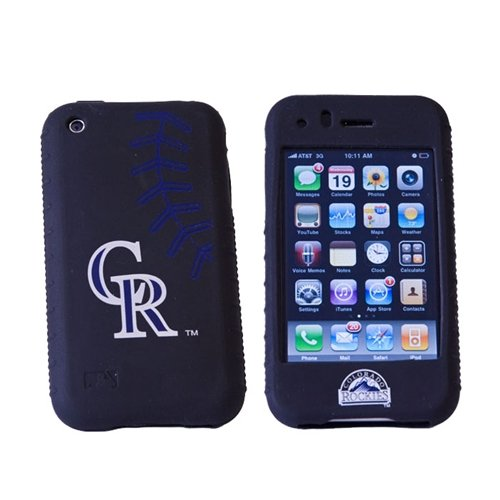 MLB Colorado Rockies Cashmere Silicone Iphone Case Cashmere Silicone Iphone Case