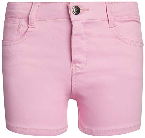 Real Love Girls\' Summer Shorts with Super Stretch Fabric, Bubble Gum Pink, Size 4'